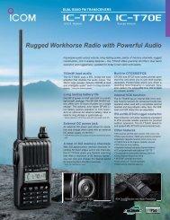 Rugged Workhorse Radio with Powerful Audio