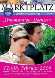 Gutschein-Magazin 1/09 - Marktplatz