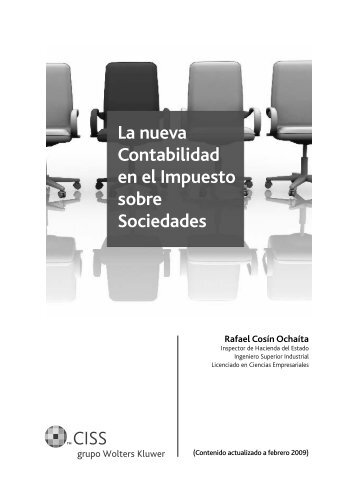La nueva Contabilidad en el Impuesto sobre Sociedades - CISS