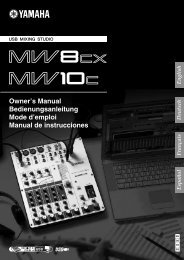 MW8CX/MW10C Owner's Manual