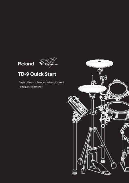 TD-9 Quick Start - Roland Corporation Australia