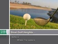 Sinai Golf Heights… - Restless Earth