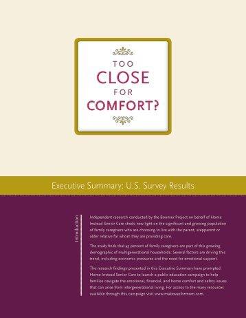view and print the Executive Summary - CaregiverStress.com