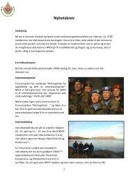 Klikk her og les nyhetsbrevet fra NROF
