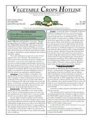 Vegetable Crops Hotline - Purdue University Botany and Plant ...