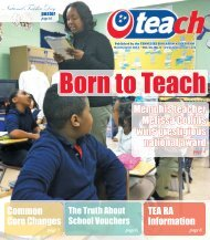 March / April - Tennessee Education Association