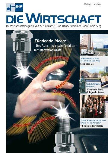 IHK Die Wirtschaft Mai 2012 - IHK Bonn/Rhein-Sieg