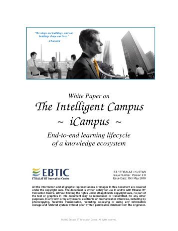 The Intelligent Campus (iCampus)