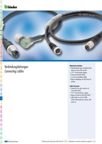 Verbindungsleitungen Connecting cables - MERA BOX