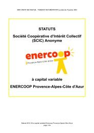 Projet de Statuts - APEAS
