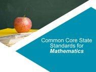 Common Core State Standards for Mathematics - Levittown Public ...