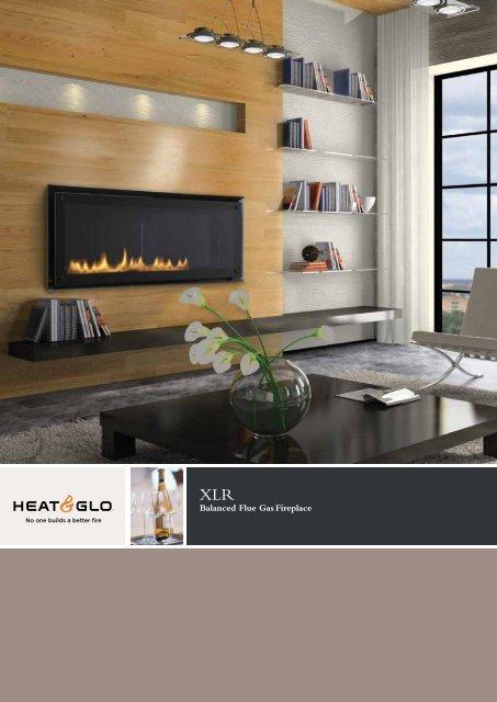 Balanced Flue Gas Fireplace