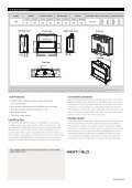 Balanced Flue Gas Fireplace - Page 4
