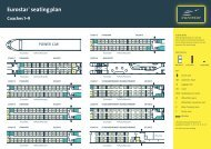 For seating plan with seat numbers, click here - Rail Plus