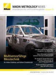 Multisensorfähige Messtechnik - Nikon Metrology
