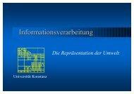 Informationsverarbeitung - Universität Konstanz