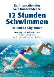 Ausschreibung 2010 - Sri Chinmoy Marathon Team - Schweiz