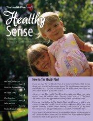 2011 - Summer - The Health Plan