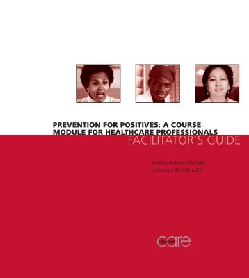 Prevention for Positives: A Course Module for Healthcare ... - SAfAIDS