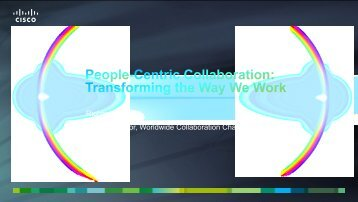 "Sponsor Keynote ""Vision"" 2 – Richard McLeod ... - UCStrategies.com"