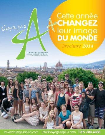 Brochure - voyages a+