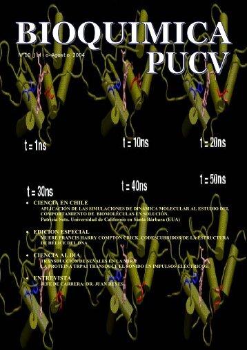 • CIENCIA EN CHILE • EDICION ESPECIAL ... - Bioquimica.ucv.cl