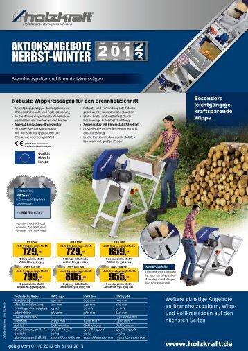 Holzkraft Brennholz - Stürmer