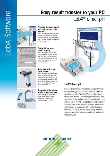 LabX Software - Mettler Toledo
