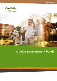 A guide to investment bonds - OnePath