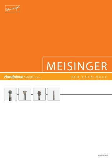 MEISINGER - Handpiece Experts