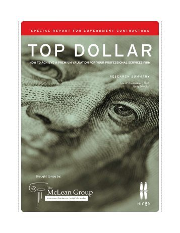 TOP DOLLAR - The McLean Group