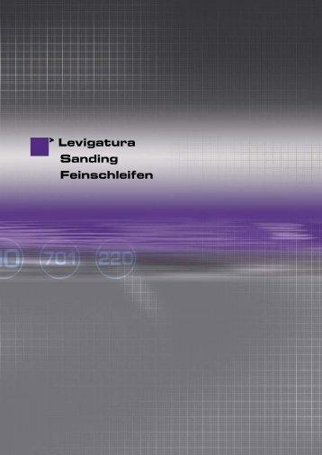 Levigatura Sanding Feinschleifen - Sea