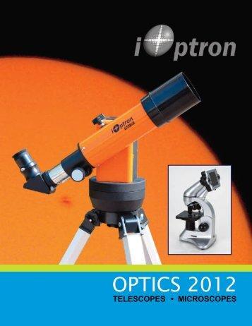 telescopes • microscopes - iOptron