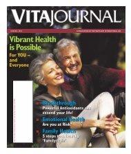 Download The Entire VitaJournal in Adobe Acrobat Form - TriVita