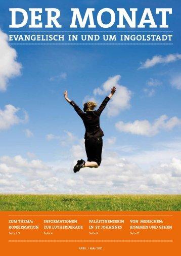 Der Monat April/Mai 2011 - ingolstadt-evangelisch.de