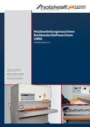 Holzbearbeitungsmaschinen Breitbandschleifmaschinen ... - Aircraft