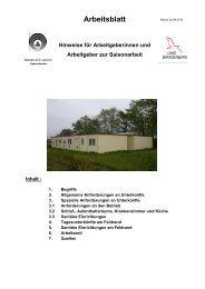 Arbeitsblatt - SVLFG