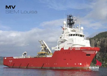 MV SIEM Louisa - Siem Offshore AS