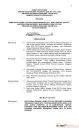 surat keputusan dewan hakim tentang penetapan juara stq xxii prov ...