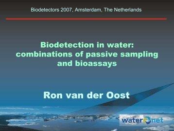 Ron van der Oost - BioDetection Systems
