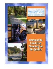 Community Land Use Planning for Air Quality  - Iowa Department of ...