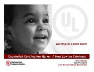 Counterfeit Certification Marks - Global Congress Combatting ...