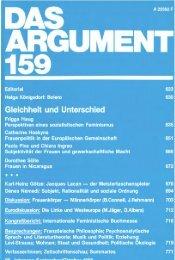 das argument - Berliner Institut für kritische Theorie eV