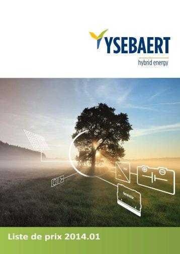 Energie Indépendante - Ysebaert