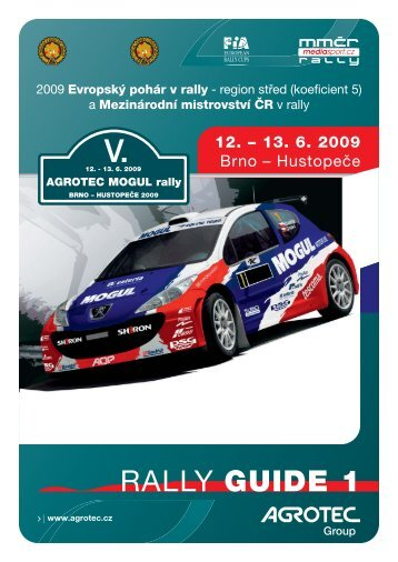 Rally Guide 1 - Řihák