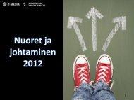 Nuoret ja johtaminen 2012 - Taloudellinen Tiedotustoimisto TAT
