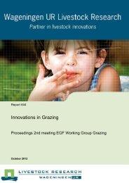 Innovations in Grazing - European Grassland Federation