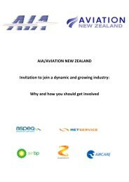 Why and how you should get involved - Aviation NZ