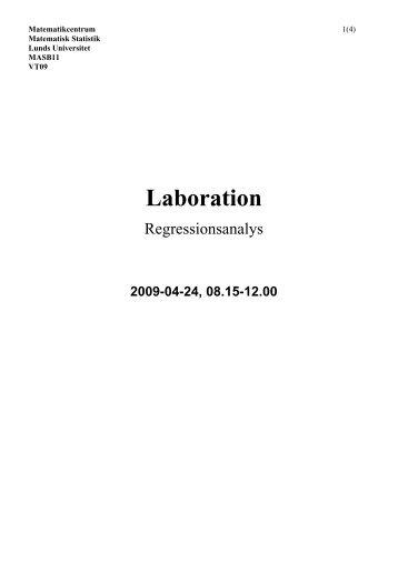 Laboration - Matematikcentrum