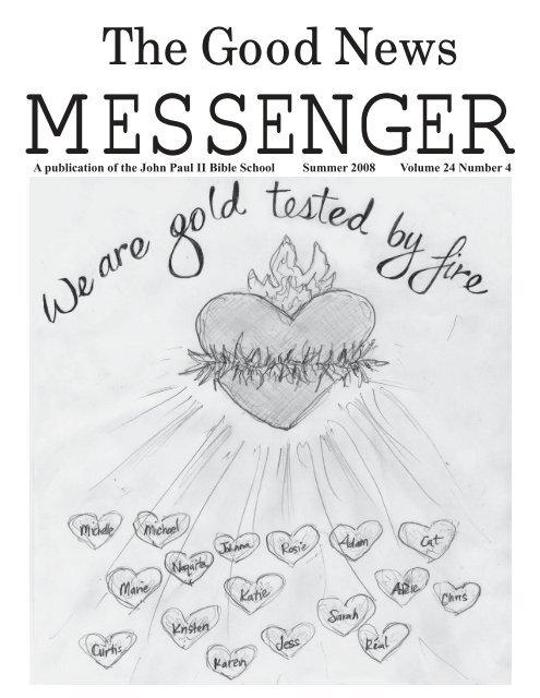 June 2008 (1 5 MB pdf) - John Paul II Bible School
